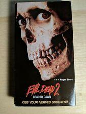 Evil Dead 2: Dead by Dawn (VHS, 1987)