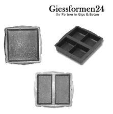 3 verschidene Betonformen für 7 Steine, Giessformen Antik Pflastersteine Neuheit