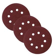 40 x 150mm hook and loop  Orbital abrasive sanding discs pads – Grit 60- 240