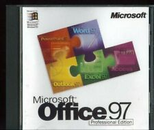 Windows Microsoft Office 97 Professional - Access Word Excel Outlook Powerpoint