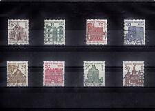 WB_117 Satz 242-249 ʘ aus 1964/ 1965 - Freimarken Deutsche Bauwerke