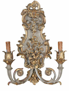 Wandleuchte Barock Wandlampe Antik Hängeleuchte Kandelaber Lampe Hängeleuchte