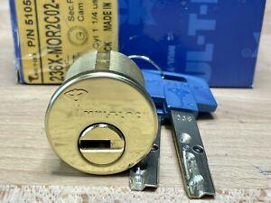 MUL-T-LOCK Interactive High-Security Mortise Cylinder w/ 2 Keys NIB - Locksport