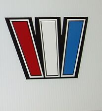 Wellcraft  huge 8 x 6 W's Marine Vinyl outlined W set  boat decals stickers