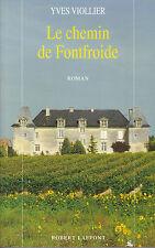 Livre le chemin de Fontfroide Yves Viollier book