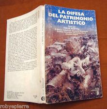 La difesa del patrimonio artistico Valsecchi Bossaglia 1° E Oscar Mondadori 1978