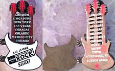 Hard Rock Cafe 2007 Ambassadors of Rock CORP. VIP PIN Triple Neck Guitar #42090