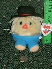 PUFFKINS * PATCHES * Scarecrow * DOB 10/31/99 * NEW * RARE * Swibco