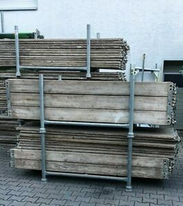 Layher U-Vollholz-Boden 2,57x0,64 m Gerüstböden Gerüstdeckel Gerüst Holzdeckel