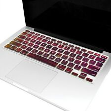 "Wood Texture Keyboard Cover Skin for Macbook Pro 13"" 15"" 17"" / New Air 13"""
