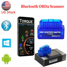 Mini Bluetooth OBD2 Scanner Code Reader Car Check Engine Fault Diagnostic Tool