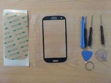 Cristal de Pantalla Negro para Samsung Galaxy S3 I9300 +Adhesivo +Herramientas