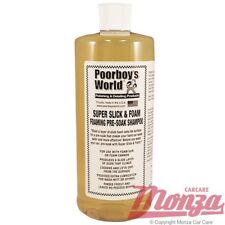 NEW!! 2018 Poorboys Snow Foam Car Wash / Shampoo **USE IN KARCHER WASHER LANCE**
