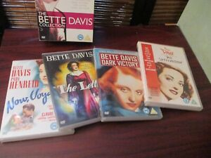 The Bette Davis film Collection - Dark Victory, Now Voyager, The Letter   DVD