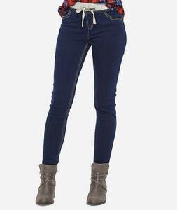 Justice Size 16 Girls Knit Waist Super Skinny Jeans New