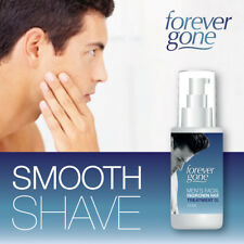 FOREVER GONE MENS FACIAL INGROWN HAIR TREATMENT OIL – SHAVE BEARD SMOOTH