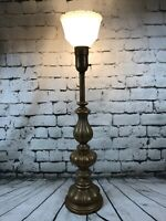 "Vintage Rembrandt Masterpieces Lamps, Floor Torch Lamp Antique 38.5"" Tall, Light"