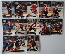 1991-92 Pro Set Series 1 Philadelphia Flyers Team Set of 13 Hockey Cards
