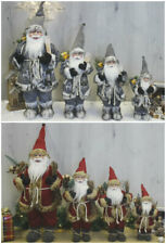Large Luxury Santa Claus Figure Father Christmas Decoration Traditional Modern