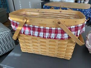 2001 Large Longaberger Basket