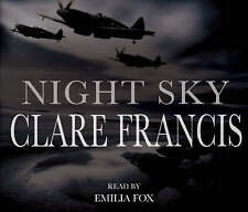 Night Sky by Clare Francis (CD-Audio, 2008) AUDIOBOOK CD 5CDS
