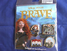 Disney * PRINCESS MERIDA - BRAVE * New in Pack Retired 4...