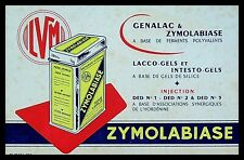 Buvard Publicitaire, ZIMOLABIASE & GENALAC - Lacco-gels et intesto-gels