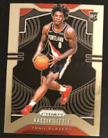 2019-20 Panini Prizm Nassir Little RC # 269 Base Rookie Card Trail Blazers