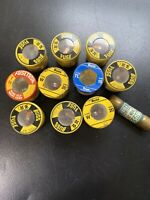 Lot of 11 Buss Fuses W15 Fuses 15 Amp. 20amp 30amp. You Get What Is In The Pic D