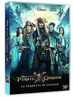 PIRATI DEI CARAIBI: La Vendetta di Salazar (DVD) Walt Disney con Johnny Depp
