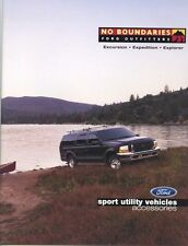 2000 FORD SUV ACCESSORIES CATALOG BROCHURE -EXCURSION-EXPEDITION-EXPLORER