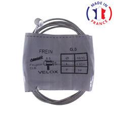CABLE DE FREIN VELOX D1.8mm L1.8m CYCLOMOTEUR MOBYLETTE PEUGEOT CLB ACIER MOTO