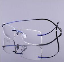 Rimless B-titanium Ultralight Eyeglass frames Flexible Glasses Frames Women Men