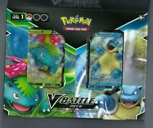 Pokemon TCG V Battle Deck Venusaur vs. Blastoise New Factory Sealed