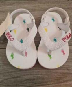 Baby Ralph Lauren Flip Flops Size 5