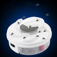 AU_ FT- USB Electric Fly Trap Device With Trapping Jar Anti Flies Killer Insect