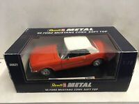 Rare Revell 65 Ford Mustang Convertable Soft Top 1:18 Die Cast 08821