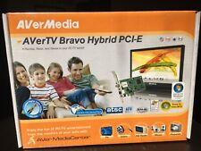 NIP AVerMedia AVerTV Bravo Hybrid PCI-E HD-TV Card Factory Sealed