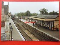 PHOTO  WANSTEAD RAILWAY STATION 6/87