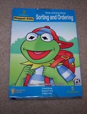 Muppet Kids Sorting And Ordering Early Learning Series Windows Pc Cd-Rom New