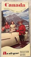 Vintage Antique Canada Travel Vacation Guide Brochure