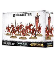 Bloodletters of Khorne 10 Warhammer 40k Daemons Age Sigmar Chaos Daemons AoS