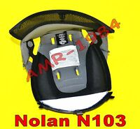 Interno Casco completoTOP CLIMA COMFORT NOLAN N20 //TRAFFIC//FIAT//NAKED White TG.M
