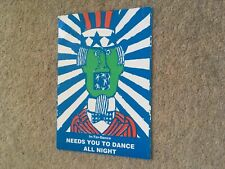 Interdance Sterns Worthing 16 March 1991 Size A5 Rave Flyer Flyers