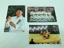 X3 KARATE JUDO JAPAN PHONECARDS