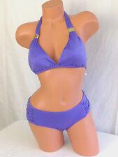 Bar III Electric Cobalt Purple Bikini - Large - NWT - MSRP $88