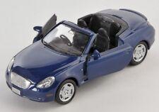 BLITZ VERSAND  Toyota Soarer dunkelblau Welly Modell Auto 1:34 NEU & OVP