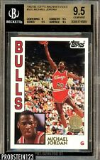 1992-93 Topps Archives GOLD #52G Michael Jordan Bulls HOF BGS 9.5 GEM MINT