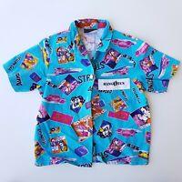 Vintage Kids Australian Hang Ten Hawaiian Shirt Boys Size 6