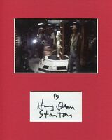 Harry Dean Stanton Alien Signed Autograph Photo Display With Sigourney Weaver